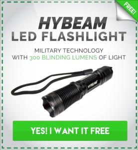 hybeam flashlight free reviews