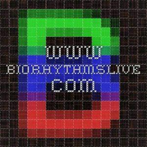 biological rhythm chart for luck